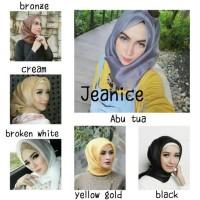 hijab organza square | jilbab segi empat | organza silk glowing