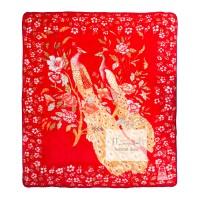 Selimut Bulu Halus Tebal Merak (Cardinal) 220 x 240 cm