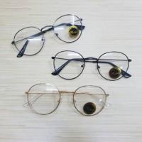 kacamata frame bulat oval
