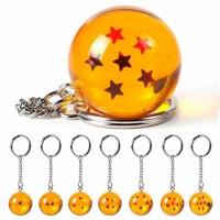 Bola Naga Dragon Ball Key Chain Gantungan kunci