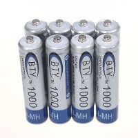 BATERAI BTY ORIGINAL AAA ( 10440 ) NiMH 1.2V 1000 Mah RECHARGEABLE