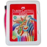 Crayon / Oil Pastel Faber Castell 24 Warna