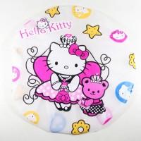 Shower Cap Topi Cover Keramas Kramas Mandi Plastik Tebal HK Putri 568