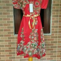 pakaian anak 8-10 tahun/dress batik/baju dress/baju anak/pakaian anak