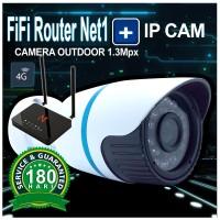 FiFi Net1 LOG U-270 4G Fixed WiFi Router & IP Camera Outdoor 1.3 Mega