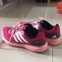 Jual sepatu running ADIDAS WOMAN DURAMO 7 PINK ORIGINAL!