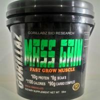 Gorillabz Godzillaz Mass Gain 5 lb / 5lb Chocolate / Mass Gainer