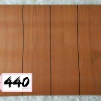 Wallpaper Sticker Dinding uk. 10 m x 45 cm / dekorasi motif kayu unik