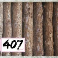 Wallpaper Sticker Dinding uk. 10 m x 45 cm / dekorasi kayu coklat unik