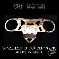 Stabilizer Shock Depan Vixson CNC Model Borgol Silver