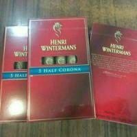 Cerutu / Cigars import - Henri Wintermans Halfcorona (perbox isi 5)
