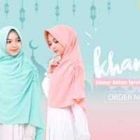 Jilbab Afra Model KHANSA (Khimar Serut Samping ) Size M