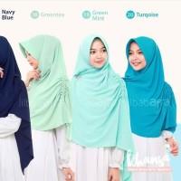 Jilbab Afra Model KHANSA (Khimar Serut Samping ) Size L
