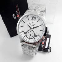 Jam Tangan Hegner 3565 BJ Silver Original