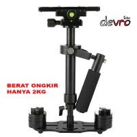 Stabiliser Stabilizer Steadycam Pro for Camcorder DSLR - Hitam