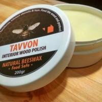 Tavvon Beeswax Interior Wood Polish - Food Grade