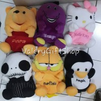 Ransel Anak Boneka Pinguin Garfield Nightmare Pooh Barney Hello Kitty