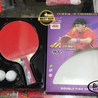Bat ping pong / tenis meja Double Fish 4A