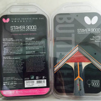 Bat Ping pong / Raket Tenis Meja Butterfly Stayer 3000 original 100%