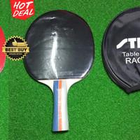 Bat / Raket Tenis Meja Stiga S-Force S204 Original Mantap + Cover