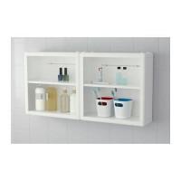 Rak Lemari dinding, DYNAN putih,40x15x40 cm