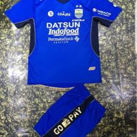 1Set jersey + celana persib bandung home grade ori thailand
