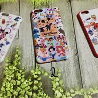 Case Casing Iphone Disney Mickey Minnie 6 6s 6 plus 7 plus + cute imut