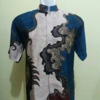 kemeja batik doby sutra halus lembut Limited