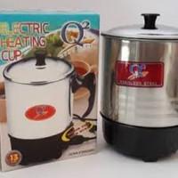 Electric Heating Cup 13 cm Q2/ Mug elektrik / Teko elektrik Murah
