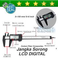 Jangka Sorong Digital Vernier Caliper with LCD Screen