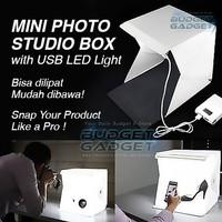 Mini Photo Studio Box Portable Lampu LED (UNTUK FOTO PRODUK)