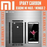Xiaomi mi max mimax 2 casing case cover armor ipaky carbon anti crack