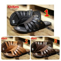 SANDAL PRIA CASUAL KICKERS WEBBER CONCEPT GENUINE LEATHER
