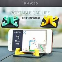 REMAX Pyramid Holder RM-C25 / Car Phone Holder Aksesoris Mobil