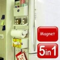 Rak Kulkas 5 IN 1 / Refrigrator Organizer + Magnet