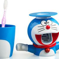 [LEBARAN BERKAH!!!] Tempat sikat gigi dan odol DORAEMON