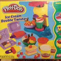 playdoh ice cream double twister