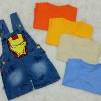 Baju anak laki laki / baju anak bayi / overall / baju kodok / ironman