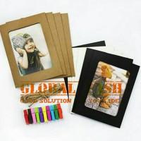 frame foto kertas/ hanging foto/ paper frame photo/frame gantung polos