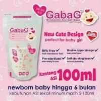 KANTONG ASI GABAG BPA FREE 30 pcs 100 ML GIRL
