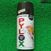 Cat Semprot PYLOX PILOX 109A Black Flat Hitam Doff 300 CC Nippon Paint
