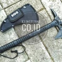 KAPAK SOG P817, KAMPAK P817 BLACK SURVIVAL KIT ADVENTURE