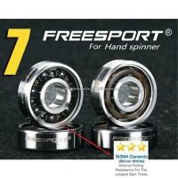 bearing ceramic hitam original freesport 608 fidget spinner original