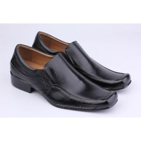 Sepatu Kerja Pria DF 006 | Sepatu Kulit Asli | Pantofel Diskon