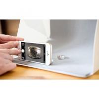 Studio Foto Mini Di Lengkapi Dengan Lampu LED Lebih Praktis dan Mudah