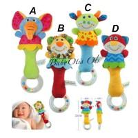 Mainan Bayi Rattle Stick