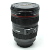 Camera Lens Mug - Gelas Plastik Unik Lensa Kamera DSLR - Kado Lucu