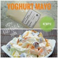 Yoghurt Mayo KEWPIE | Mayonnaise Yogurt Salad Buah Sayur Pie Vegan