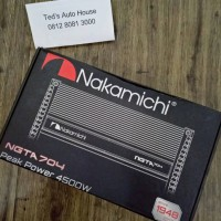 Power 4 Channel Nakamichi NGTA 704 Made in Japan