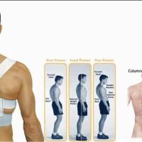 Power Magnetic Posture Sport / Alat Kesehatan Penegak Postur Punggung